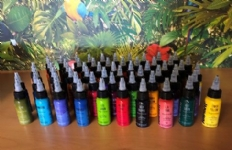 Radiant - 60 Set of Tattoo Inks - Choose your own 60 colours!