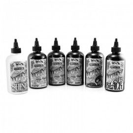 Nocturnal Tattoo Ink | Black Full Set | 6 Bottles