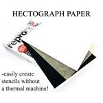 Hectograph (non-thermal carbon) paper