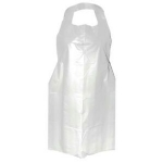White disposable aprons - box of 100 | Jungle Tattoo Supplies